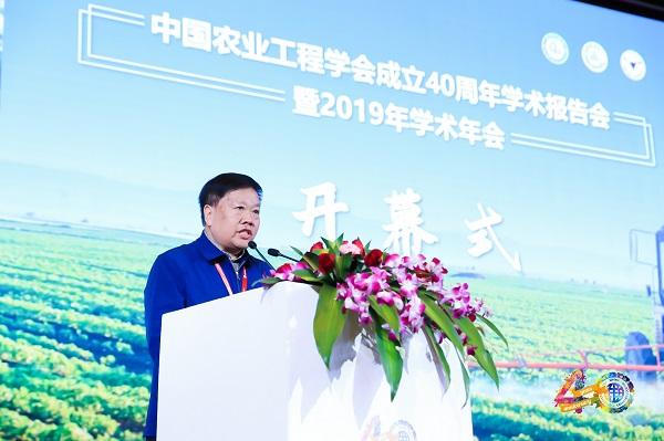 中国农业工程学会常务副理事长兼秘书长朱明
