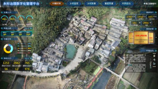 乡村治理数字化平台助力数字乡村建设