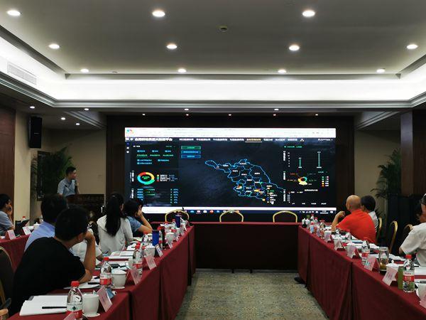 万博怎么下载云农软件总监王惠义展示全国耕地质量大数据平台各功能模块